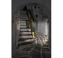 Two Staircases and an Alley Photographic Print