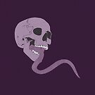 Skull Tongue [Purple] (Other Colours Available) by Styl0