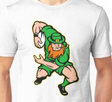 Irish leprechaun rugby player Ireland Unisex T-Shirt