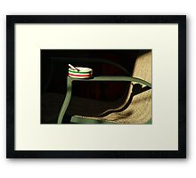 lonely ashtray  Framed Print