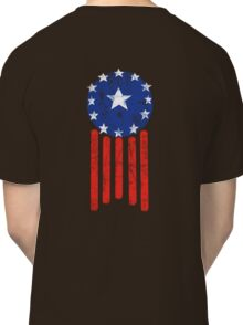 Old World American Flag Classic T-Shirt