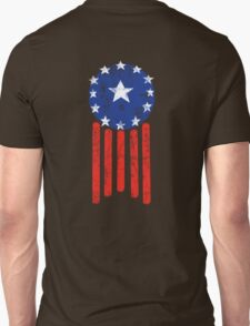 Old World American Flag Unisex T-Shirt