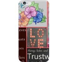 Love is Eternal and Unconditional iPhone Case/Skin