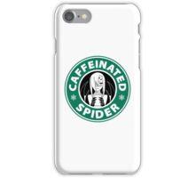 """Rachnera """"Caffeinated Spider"""" Logo iPhone Case/Skin"""