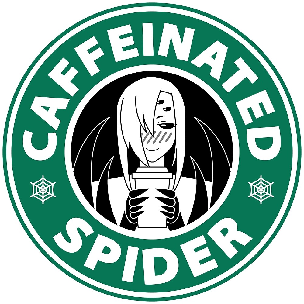 Quot Rachnera Quot Caffeinated Spider Quot Logo Quot By Loganagle Redbubble