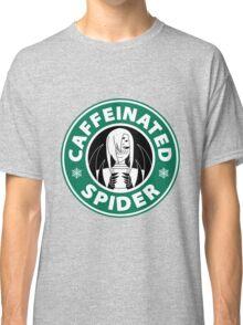 "Rachnera ""Caffeinated Spider"" Logo Classic T-Shirt"