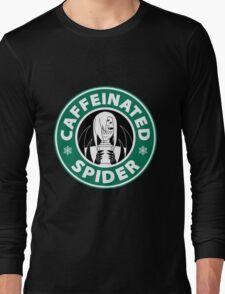 "Rachnera ""Caffeinated Spider"" Logo Long Sleeve T-Shirt"