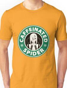 """Rachnera """"Caffeinated Spider"""" Logo Unisex T-Shirt"""