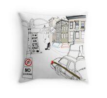 Keep An Eye Out Throw Pillow