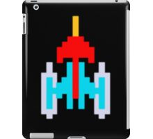 Commander Galaxi - with monitor blur effect iPad Case/Skin