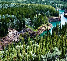 Yukon River Gorge by mikewheels
