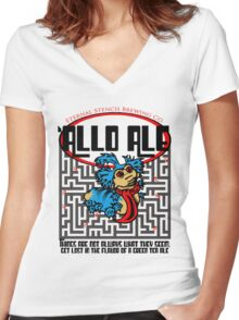 L-O-L Women's Fitted V-Neck T-Shirt
