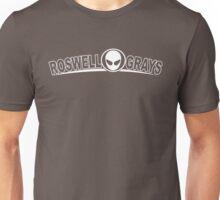 Roswell Grays White Unisex T-Shirt
