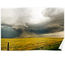 Outflow dominated Supercell near Kiowa, Colorado Poster