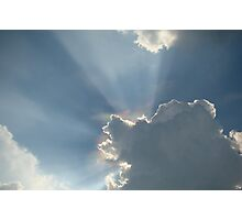 Rays of Light ~ Photographic Print