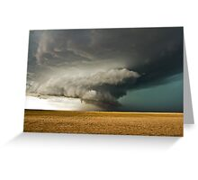 Rotating Supercell in the Palmer Divide, Colorado Greeting Card