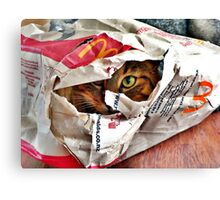 Lurking in wait of the unwary fast food junkie!  Canvas Print