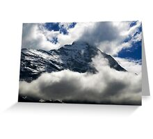 Eiger Nordwand Greeting Card