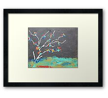 Mysterious Tree Framed Print