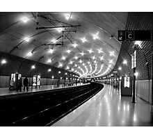 Monaco train station Photographic Print