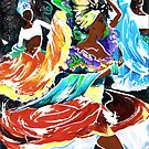 Cuban Dancers - Magical Rhythms... by Elisabeta Hermann