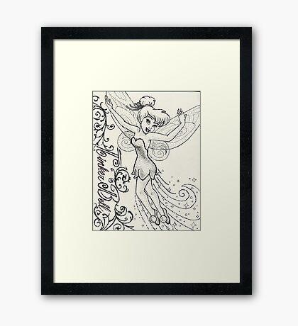 Fairie Queene Framed Print