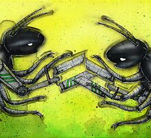 Robo Beetles by Kaitlin Beckett