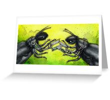 Robo Beetles Greeting Card