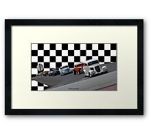 The Line-Up - Hwy. 80 Car Cruise Framed Print