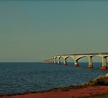 Confederation Bridge PEI by Kate Adams