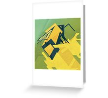The Rhombus Bombus Greeting Card