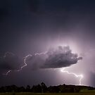 Lightning show - Canberra, ACT by Troy Barrett