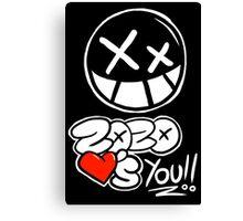 ZoZo <3's YOU!!! Canvas Print
