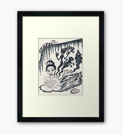 Iconic T Framed Print