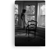 Beautifully Mysterious Self-Abandoned Potraiture, Self- 3 Canvas Print