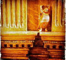 Budda Winks at The Hecker-Smiley Mansion by kelleygirl