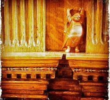 Budda Winks at The Hecker-Smiley Mansion by kelleygirl