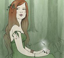 Pale - Forest Elf by Amanda Francey
