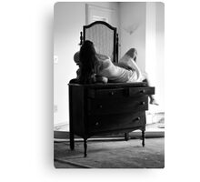 Beautifully Mysterious Self-Abandoned Potraiture, Self-6 Canvas Print