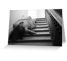 Absinthe Drinker- Beautifully Mysterious Self-Abandoned Potraiture, 7 Greeting Card