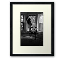 Beautifully Mysterious Self-Abandoned Potraiture, Self-8 Framed Print