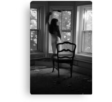 Beautifully Mysterious Self-Abandoned Potraiture, Self-8 Canvas Print