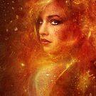 High Priestess Fire by Jena DellaGrottaglia