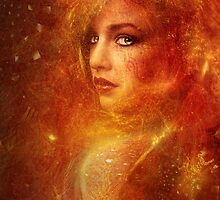 High Priestess Fire by autumnsgoddess