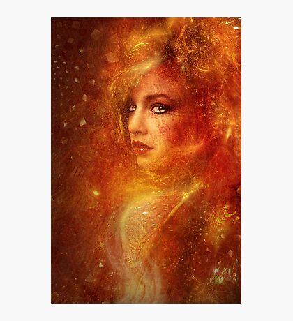 High Priestess Fire Photographic Print