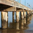 Frankston Pier by Kate Kohaly