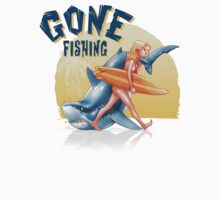 Gone Fishing One Piece - Long Sleeve
