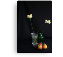 Pear of apples Canvas Print