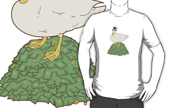 The Richest Duck In The World by Sam Chapman