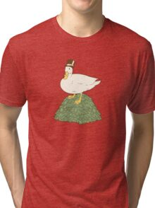 The Richest Duck In The World Tri-blend T-Shirt